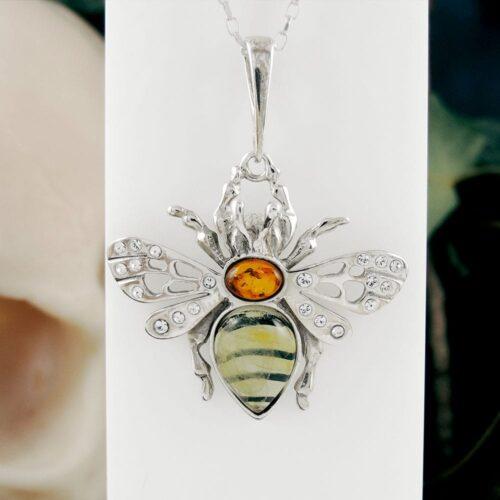 amber-bee-pendant