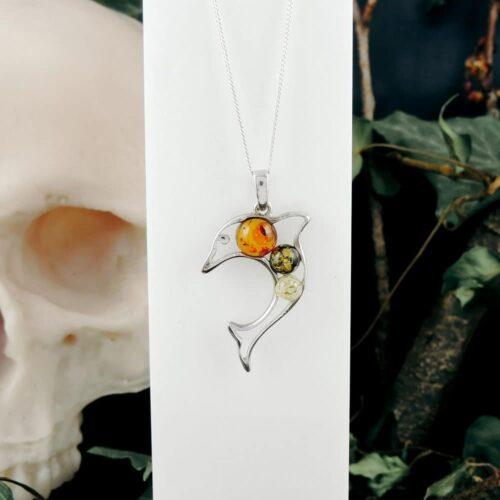 amber-dolphin-pendant