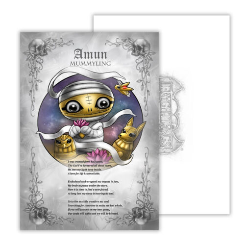 amun-mummyling-poem-artwork-with-envelope