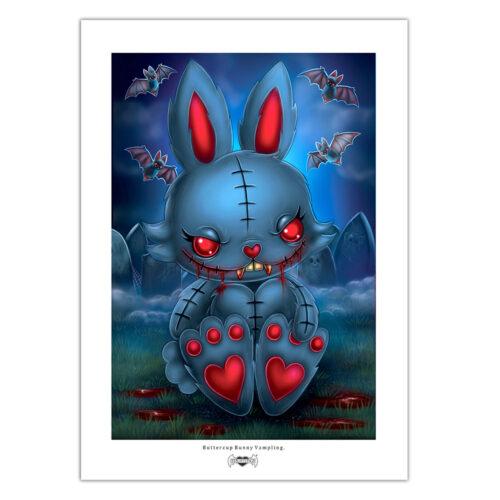 buttercup-bunny-vamp--print-a4-matt-paper