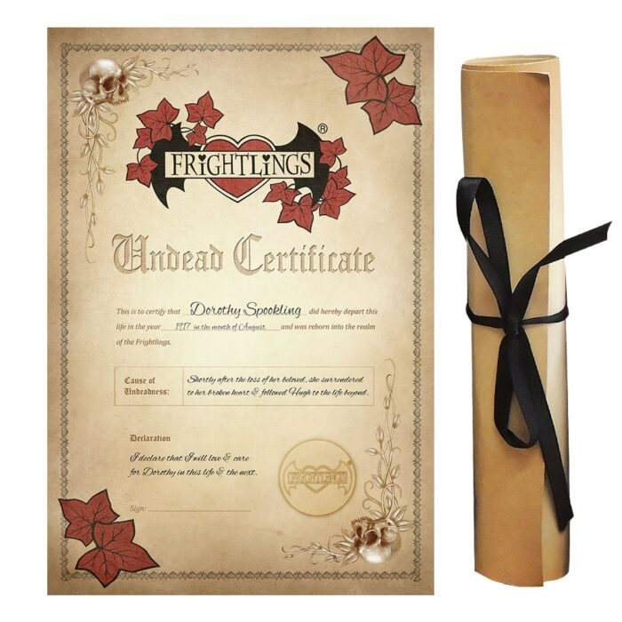 dorothy-spookling-undead-certificate-scroll