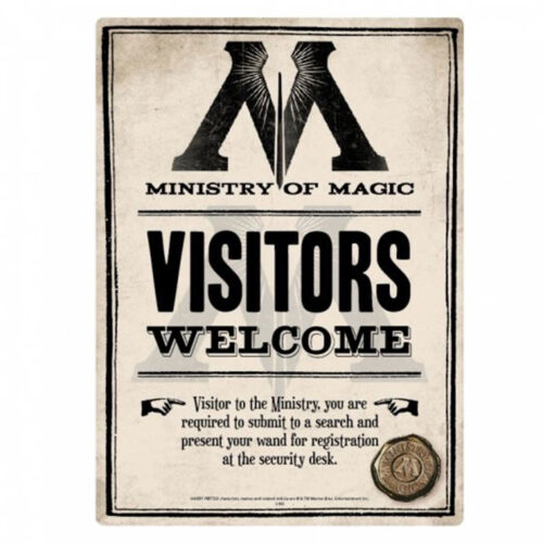harry-potter-visitors-welcome-plaque