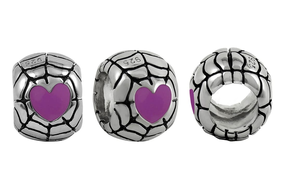 heart-web-bead-purple
