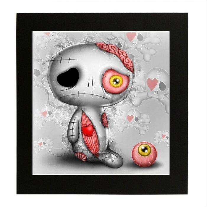 limbo-zombieling-mounted-print
