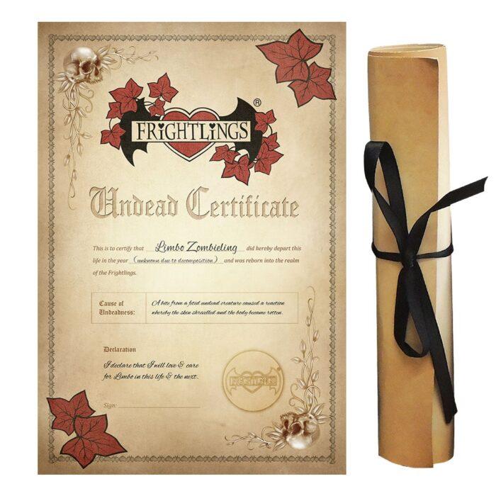 limbo-zombieling-undead-certificate-scroll