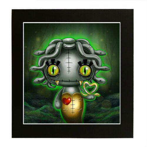 medusa-gorgonling-mounted-print