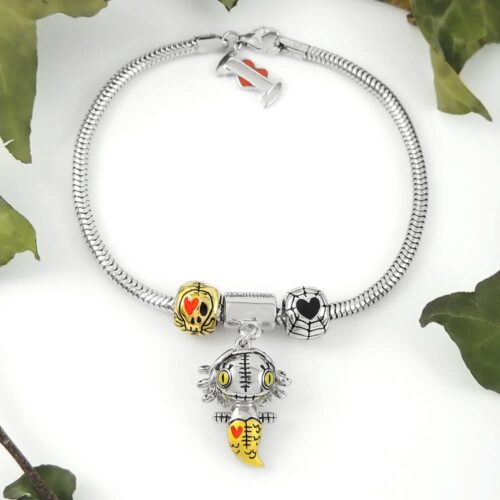medusa-sterling-silver-charm-bracelet