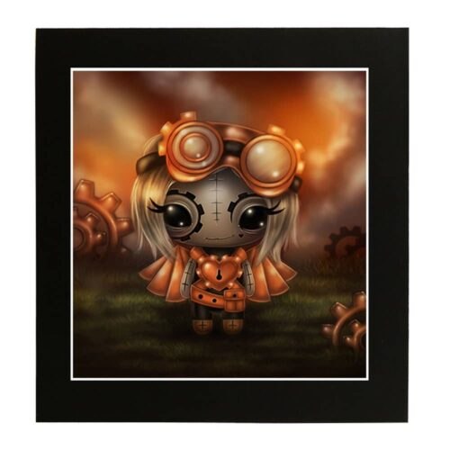 miss-t-ginkeys-steampunkling-mounted-print