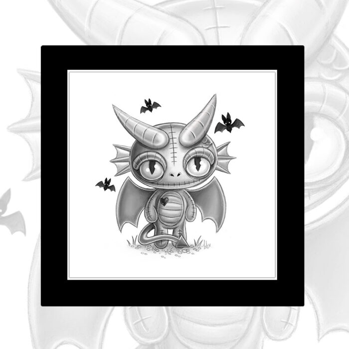 mounted-mini-print-doranth-dragonling