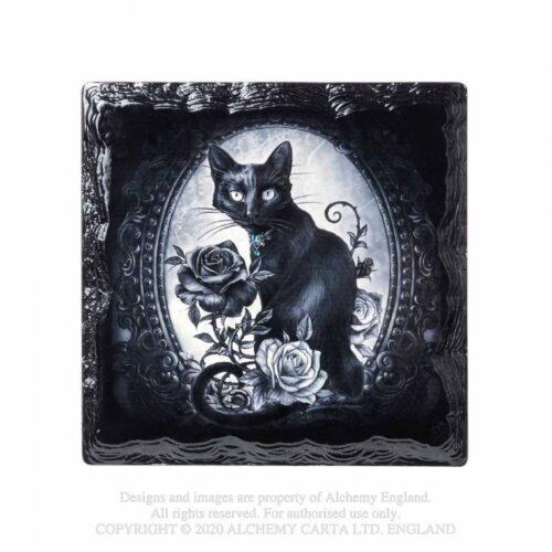 paracelsus-cat-roses-coaster-alchemy-gothic