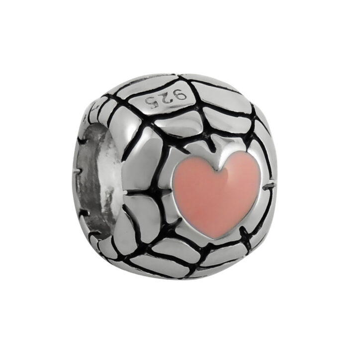 pink-heart-web-bead-front-view