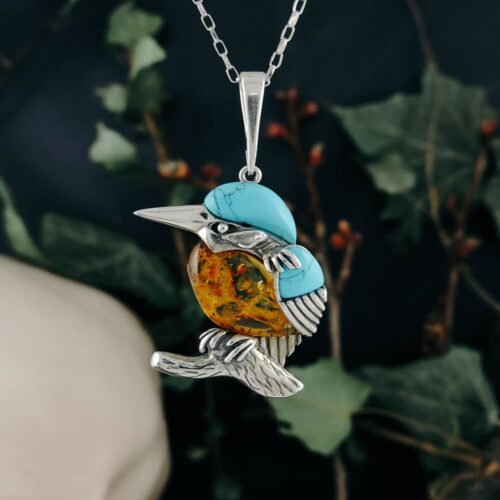 silver-kingfisher-turquoise-amber-pendant