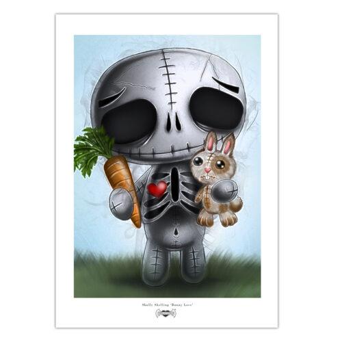 skully-bunny-print-a4-matt-paper