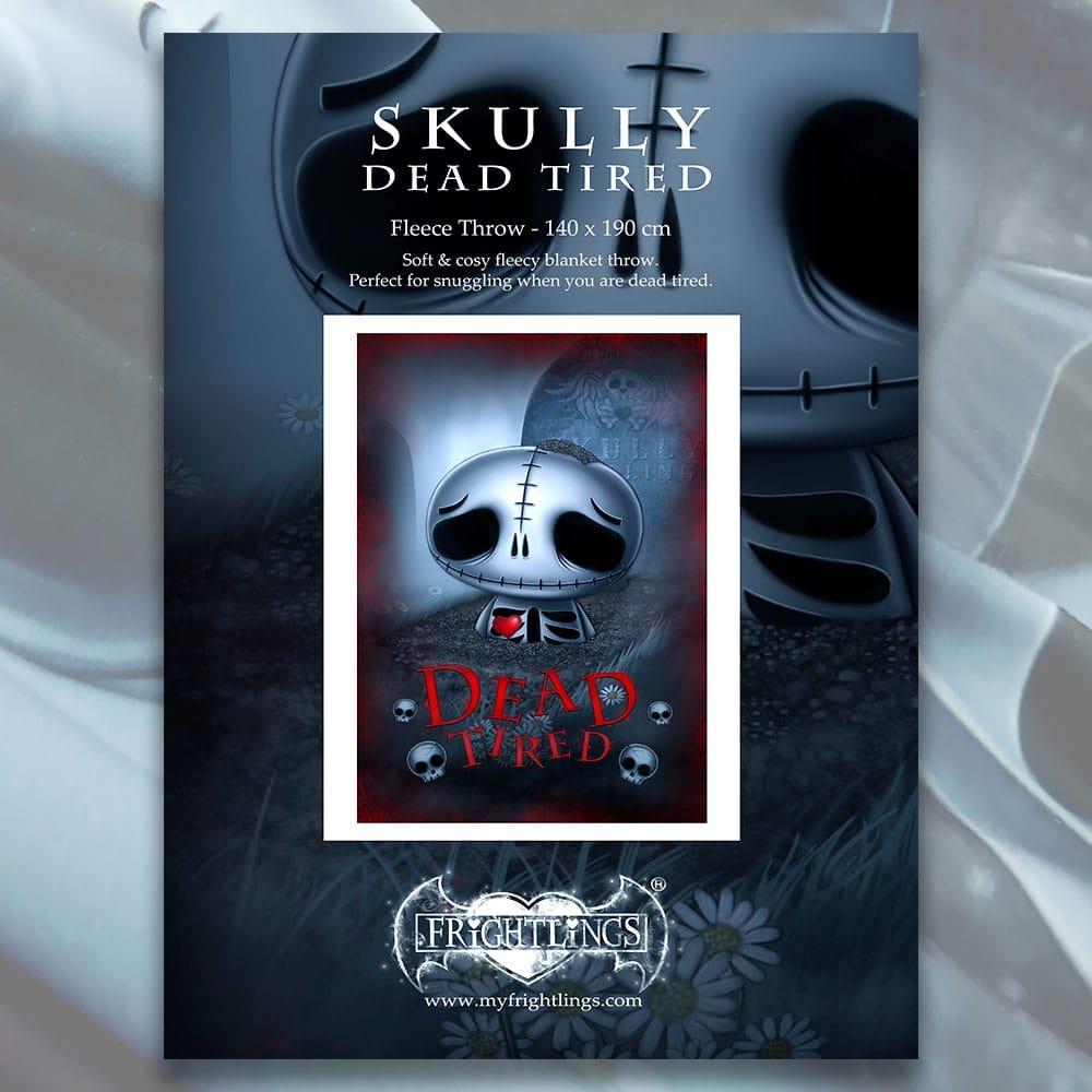 skully-skelling-single-fleece-throw-close-up-packaging-artwork