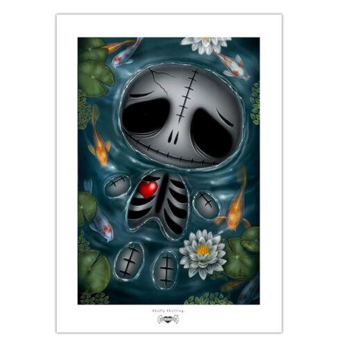 skully-skelling-skinny-dip-print-a4-matt-paper
