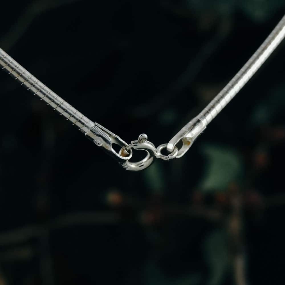 solid-snake-silver-necklace