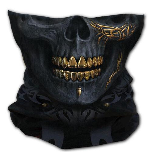 spiral-blck-gold-mask