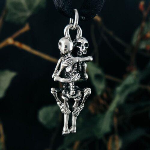 sterling-silver-skeletal-embrace-pendant