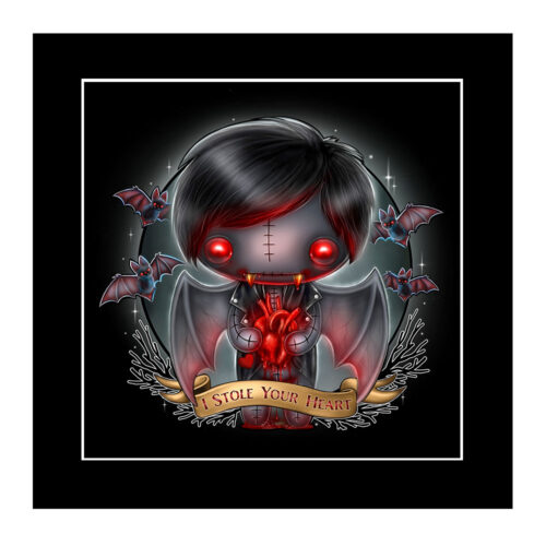 victor-heart-mounted-print