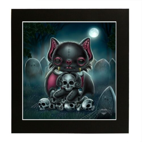 vincent-skull-king-mounted-print