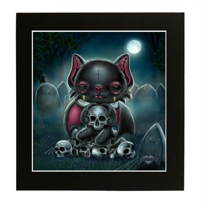 vincent-skull-king-mounted-print