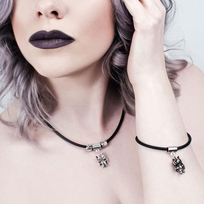 batling-rubber-necklace-and-bracelet