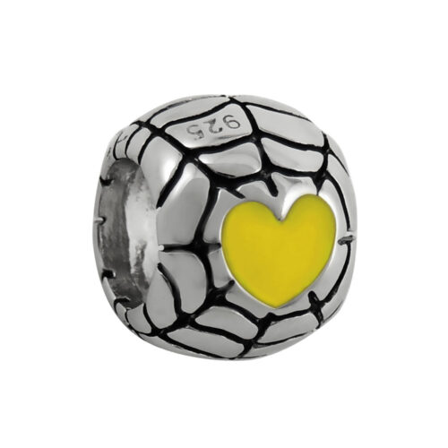 sterling-silver-yellow-heart-web-bead